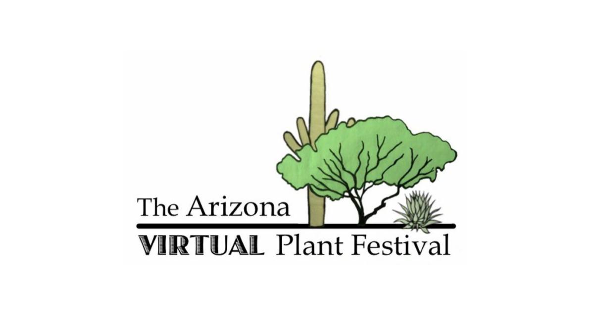 Graphic for the Arizona Virtual Plant Festival