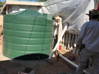RWH__Tank Installation