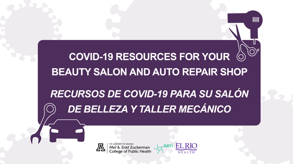 COVID-19 Resources For Your Beauty Salon and Auto Repair Shop
